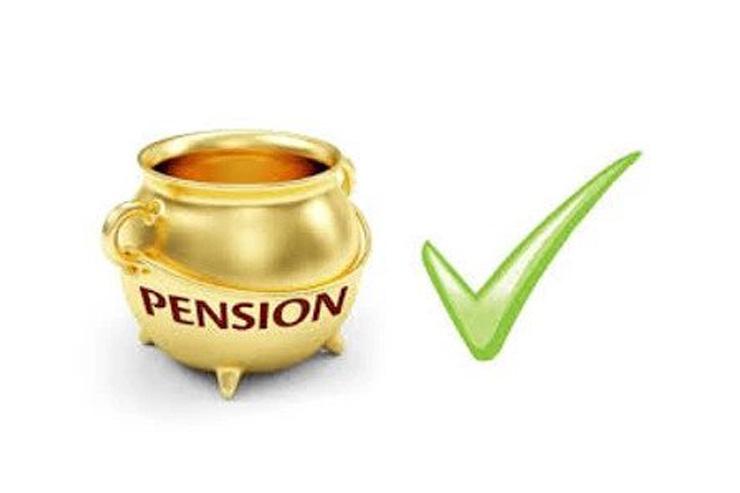 bild av en guldkruka med pension